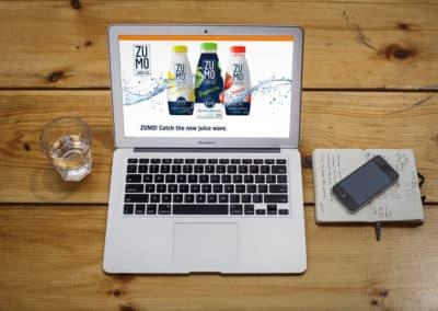 Zumo Juice Website