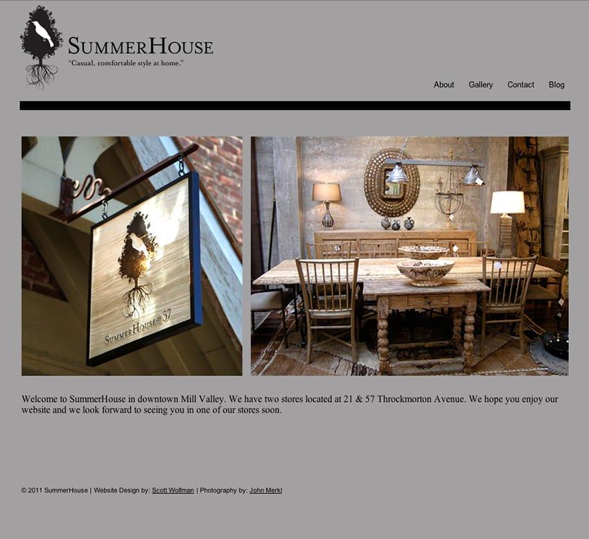 Web Design – SummerHouse