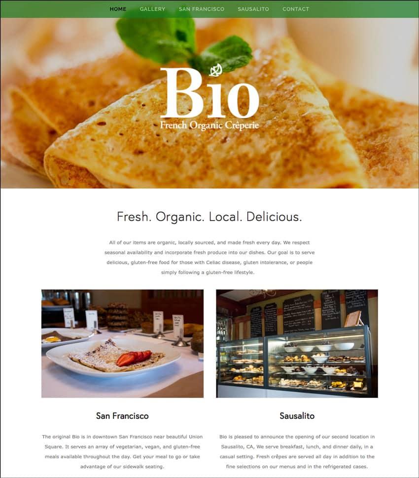 Web Design – Bio